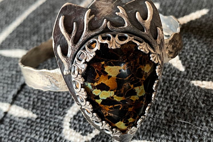 The Stag Iron Mustang Cuff