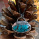 Feather Cloud Turquoise Necklace