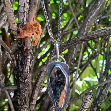 Mohave Coffin Necklace