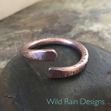 Chunky Copper Ring